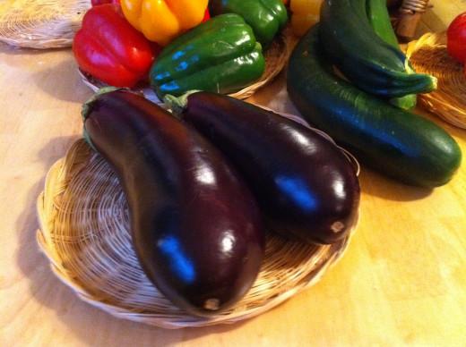 eggplant to roast