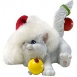 Cute Cat Christmas Ornaments for the Cat Lover
