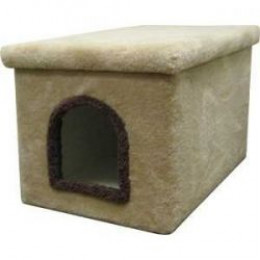 Carpeted Litter Box Enclosure
