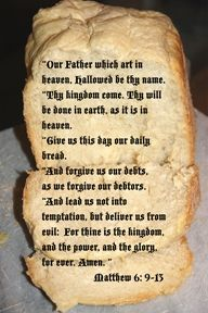 Our Father Scripture Poster   (Art by Cheryl Rogers)