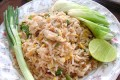 Easy Thai fried rice. Surprising and delicious, the perfect quick meal for one