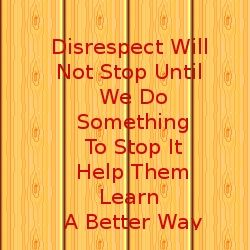Teach How To Respect Others