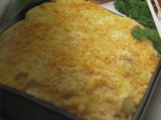 Cauliflower Au Gratin. Photo Credit - Elsie Hagley