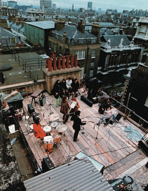 The Rooftop As Seen By Ken Mansfield