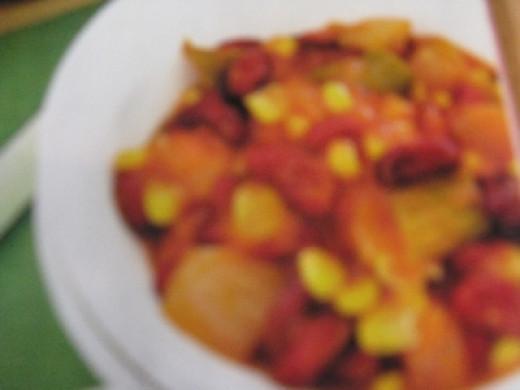 Vegetable Bean Goulash