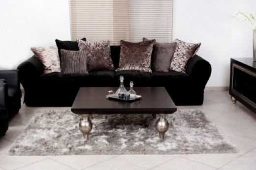 Modern dark coloured Couch. Photo Credit - photostock / FreeDigitalPhotos.net