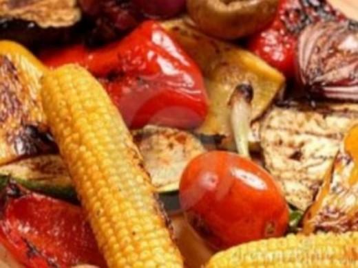Barbecue vegetables. Photo Credit - Elsie Hagley
