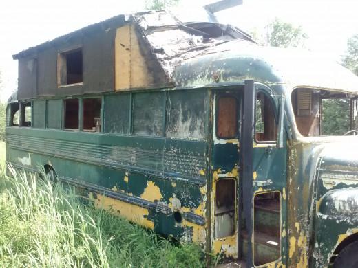 Vintage School Bus A beautiful piece of history
