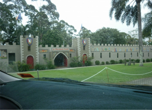 The Macadamia Castle.