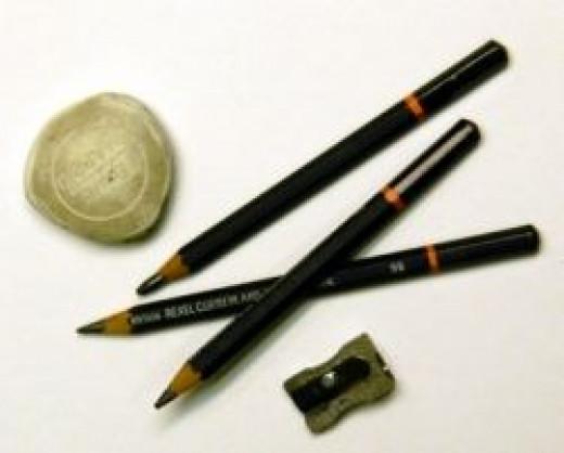 Drawing Supplies Photo by Mona Majorowicz