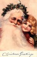 Vintage Santa Postcards
