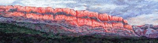 Big Bluff Painting