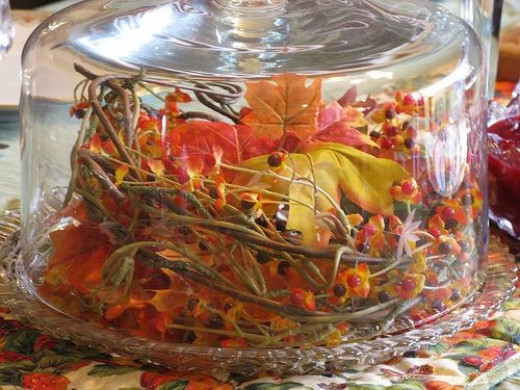 Ideas for thanksgiving centerpieces easy autum table
