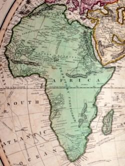 Africa (scan from vintage atlas circa 1830)