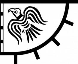 Hrafnsmerki or Landoda, Harald's raven banner that ended as a scrap of material at Dunvegan Castle on Skye, 'the faerie flag'