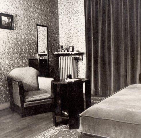 boudoir with armchair