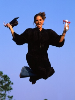 Girl Graduation - graduating