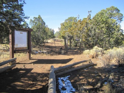 Red Mountain Trailhead
