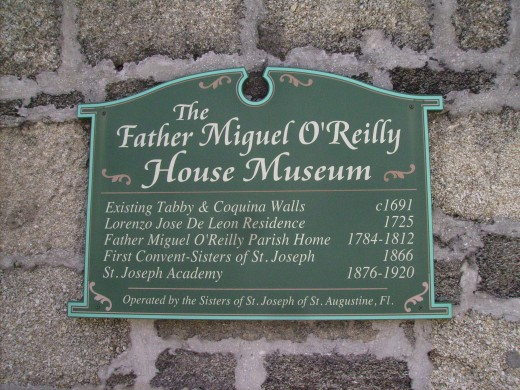 Father O'Reilly House in St. Augustine has had many uses over the centuries