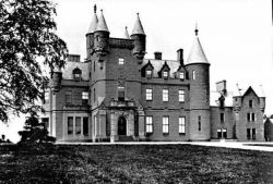 Buchanan Castle in it glory