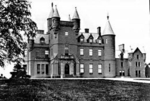 Buchanan Castle in it glory