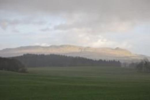 Drymen - scotland - west highland way - view