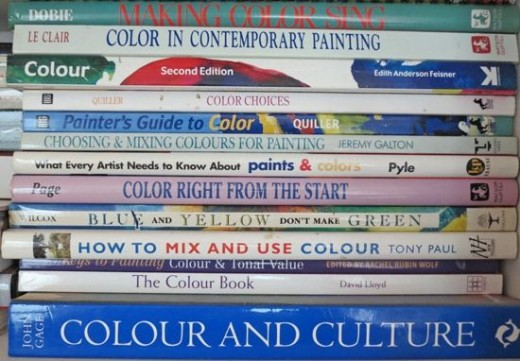 Making A Mark Art Books Colour