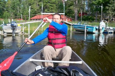 Voyageurs National Park is a boater's paradise, whether by paddle, motor or sail.