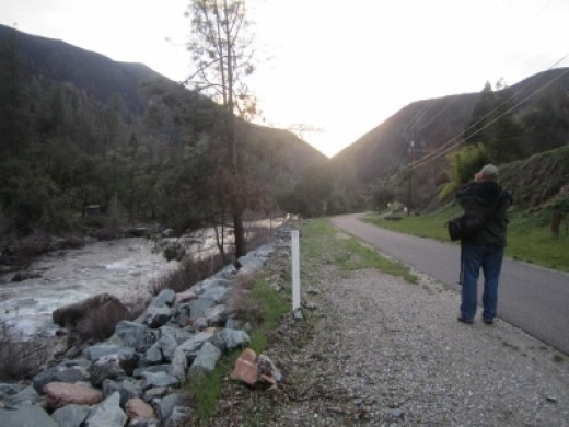 We enjoyed evening walks on Incline Road, which runs by Dirt Flat and Dry Gulch Campgrounds, along the old railroad bed.