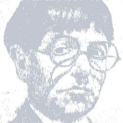 Graphical representation of his self portrait c.1939