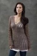 long sleeved crochet top pattern