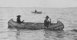 Voyageurs heading to Grand Portage
