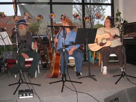 Flint Folk Music Society Members