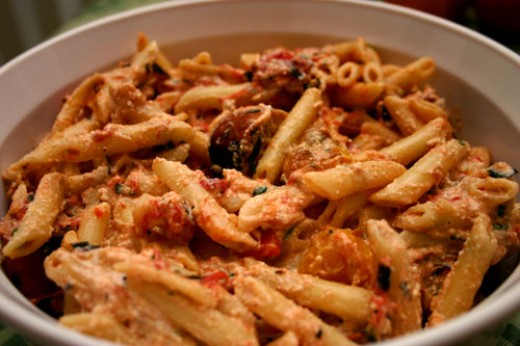 Salsice Pasta Rustico