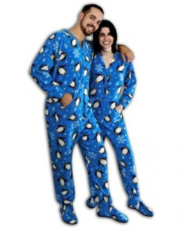 Footed Pajams for Adults