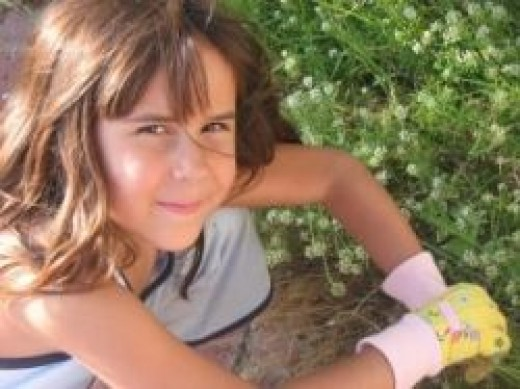 Getting kids to eat vegetables - green fingers
