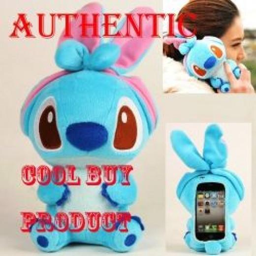 Stitch Plush iPhone Cover