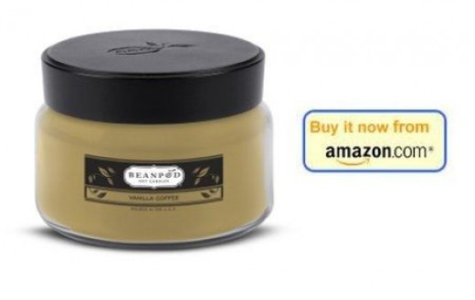 Coffee Scented Vanilla Candle