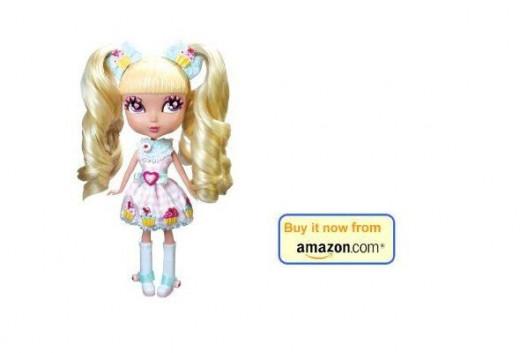 Cutie pops doll chiffon