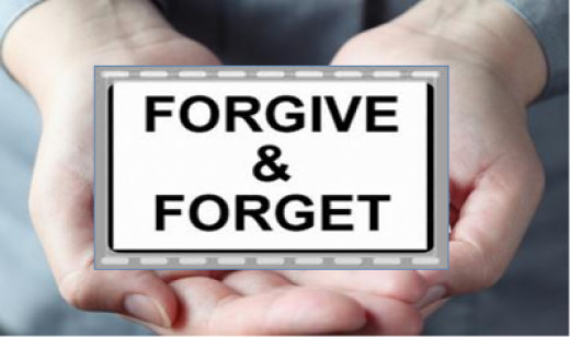 Please forgive me, Now can we forget about it!