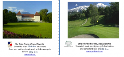 This is what our product has done for Golf Courses.
