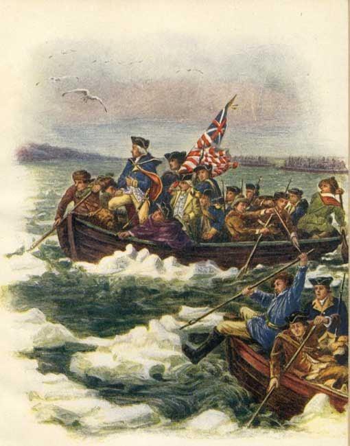 George Washington Crossing The Delaware