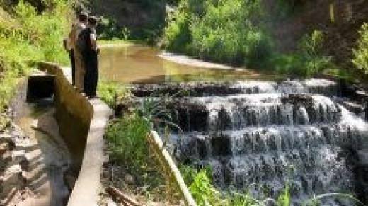 Minanga River Intake and Channel