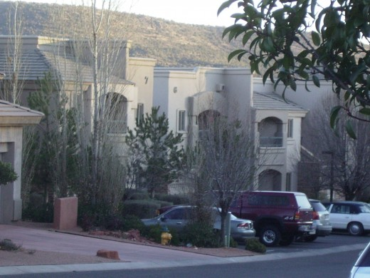 Timeshare units in Sedona, Arizona