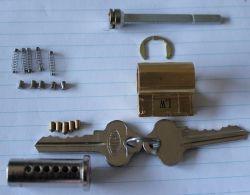 lockwood digital deadlock cylinder disasembled