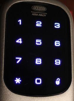 lockwood digital deadlock keypad
