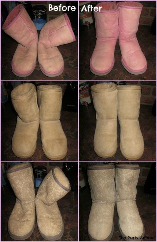 cleaning uggs