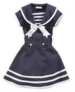 Bonnie jean little girl sailor dress available at macy s sizes 2 6x