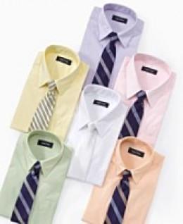 Nautica Boys Poplin Shirt and Tie Set. Available at Macy's. $19.99 sale. photo credit, Macy's