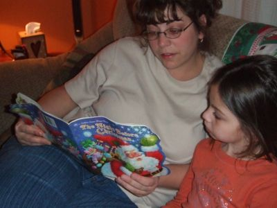 Me Reading to my Daughter